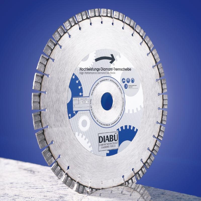 DIABÜ® Hochleistungs-Trennscheiben Premium Kurzzahn