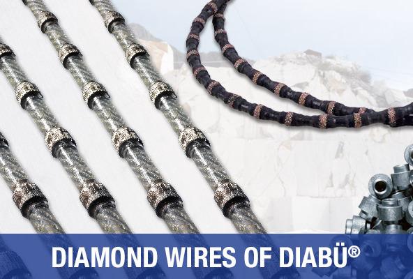 Diamond Wires of DIABÜ®