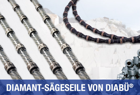 Diamant-Sägeseile von DIABÜ®